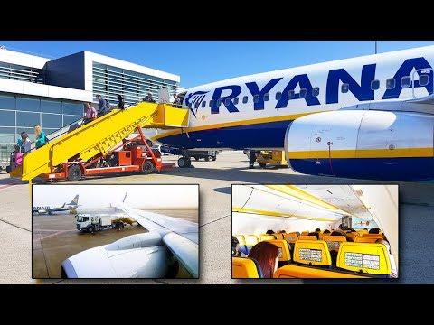 TRIP REPORT | Ryanair | Boeing 737 Sky Interior | Bratislava - Madrid