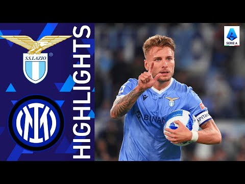 Lazio Inter Goals And Highlights