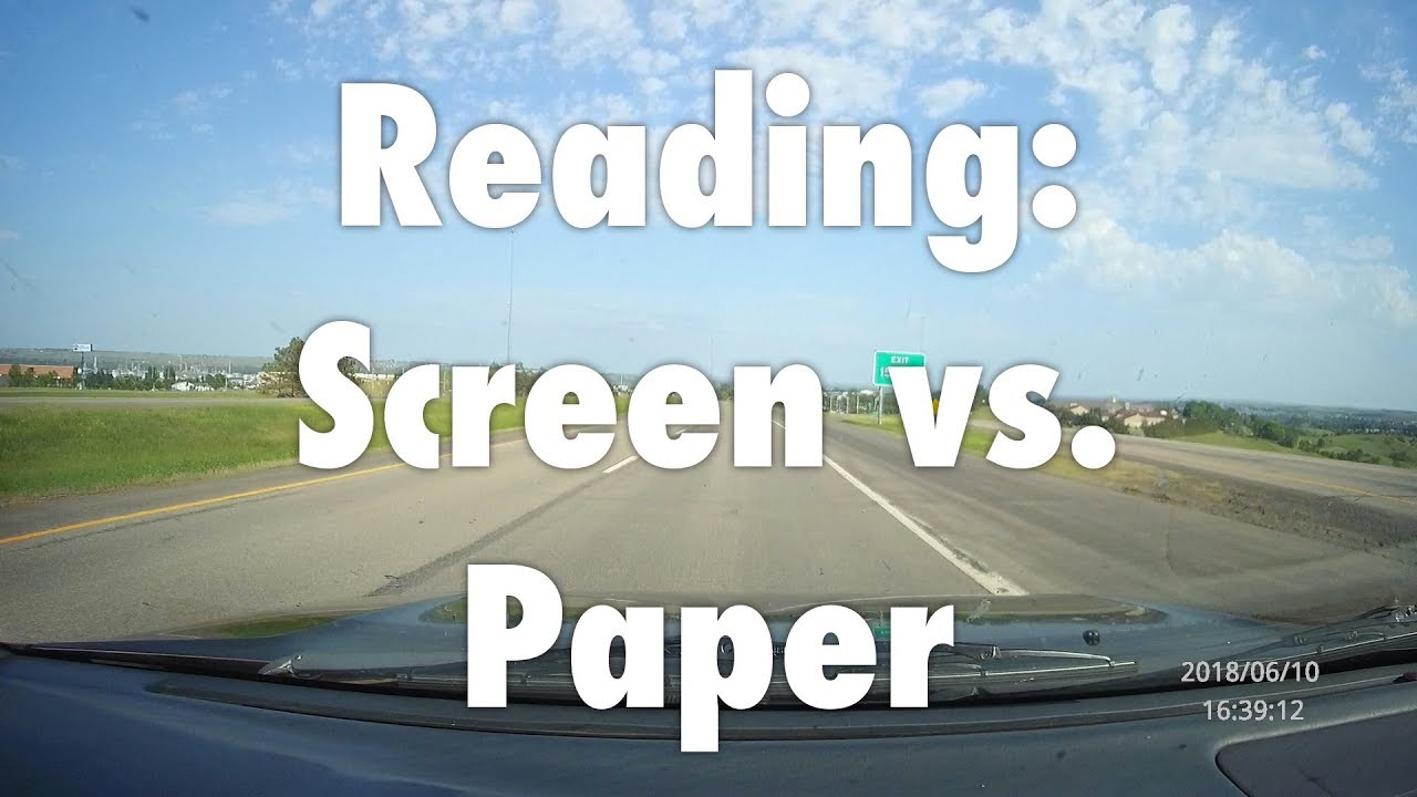 Difference between screen and actual road