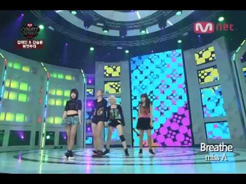 [K-POP] Mnet - M countdown, miss A - Breathe mp3