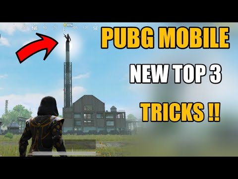 PUBG MOBILE NEW TOP 3 SECRET TIPS AND TRICKS HINDI !! PUBG MOBILE NEW TRICKS HINDI