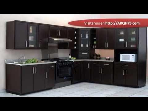Cocinas integrales para espacios pequeos  YouTube