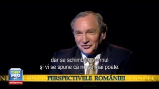 George Friedman, Stratfor president: Romania in geopolitical game between Russia and USA (sub: RO) thumbnail