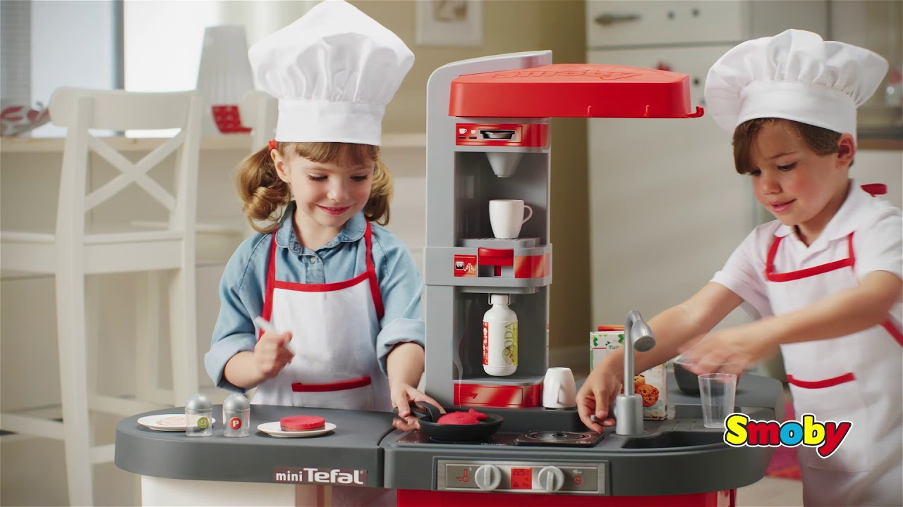 Smoby Tefal Studio Bubble Küche Anleitung Tefal Studio Bubble Xxl Küche Youtube