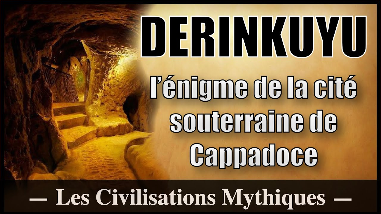 La cité souterraine de Derinkuyu - Les Temples Oubliés