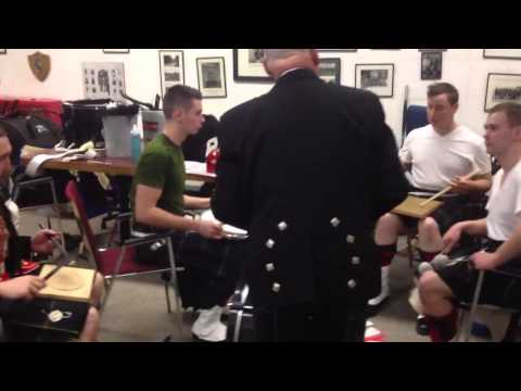 DM Keane gives demo