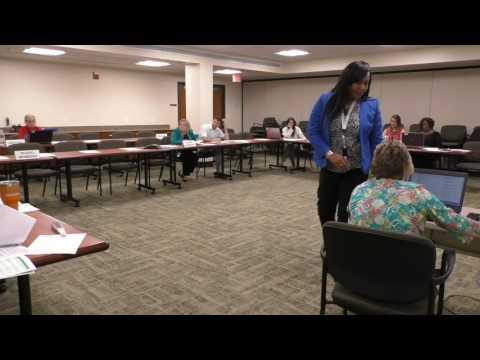 Advisory Board Meeting August 8, 2017