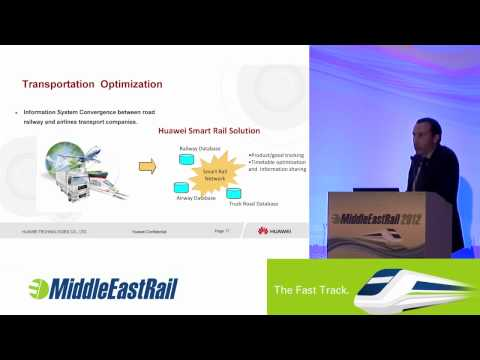 Huawei's - Innovation ICT solutions for GCC Railway Projects