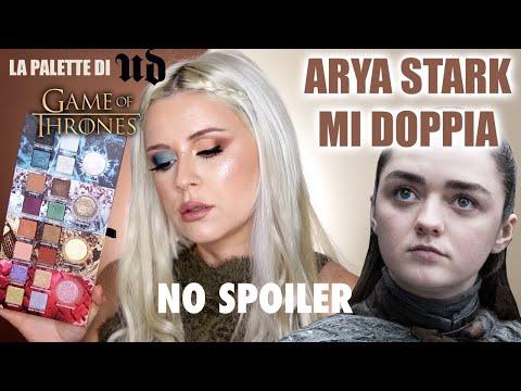 ARYA STARK DOPPIA IL MIO TUTORIAL CON LA PALETTE DI GAME OF THRONES X URBAN DECAY thumbnail