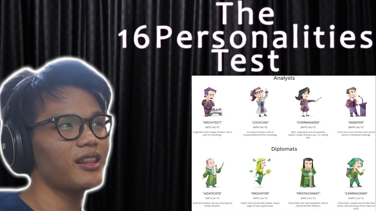 What Is My Personality 16personalities Test Youtube