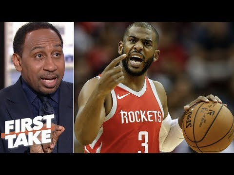 Stephen A. to Chris Paul: You couldn't have taken less money? | First Take