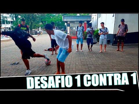 DESAFIO NO PQ.SÃO JORGE - 1X1 - FOOTZ ⚽