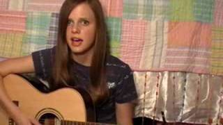 "Me singing ""Teardrops on my Guitar"" by Taylor Swift"