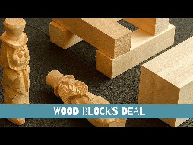 Best Wood for Carving Deal l I Affordable Wood Carving for Beginners