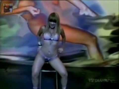 Tigresa Sheila mell absoluta no making-off da areavip