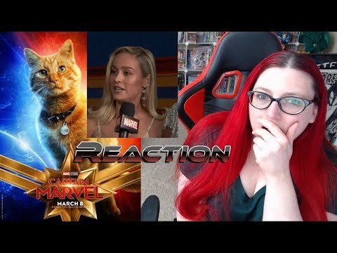 Captain Marvel Goose The Cat & Brie Larson Red Carpet Premiere Highlights Reaction!