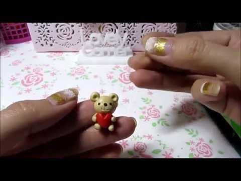 Polymer Clay Tutorial Teddy Bear (text Indonesia)