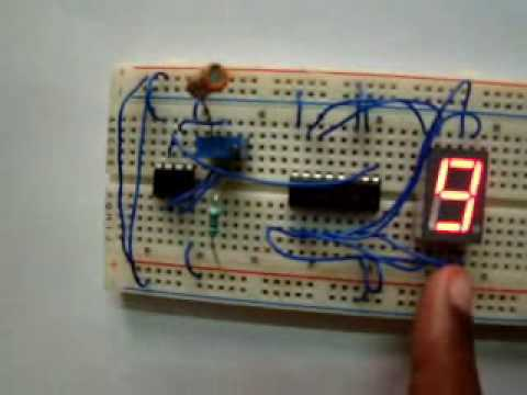 Light Wiring Diagram Class For Hospital Management System Digital Pulse Counter - Single Digit Youtube