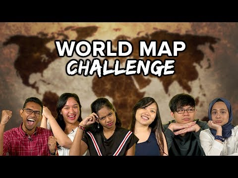 Malaysians Do The World Map Challenge - Part 1