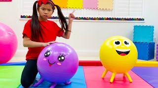 Emma Pretend Play Learning & Playing Sports and Activities for Kids