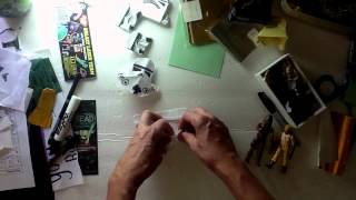How to fold Origami Stormtrooper helmet!