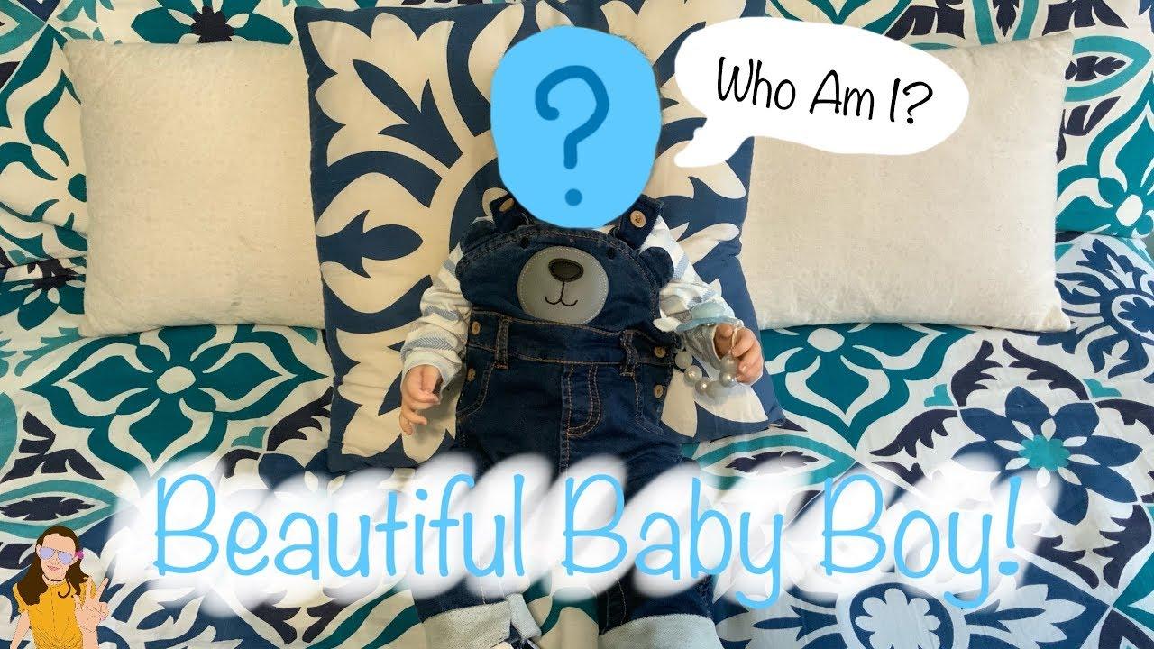 Beautiful Reborn Baby Boy Box Opening Giant Baby Boy