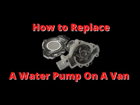 98 chevy venture water pump replacement