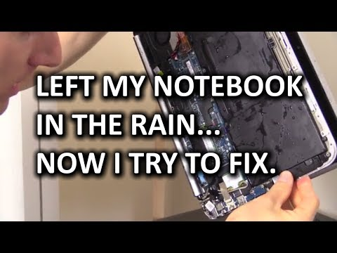 Wet Laptop Recovery - Is it Possible?