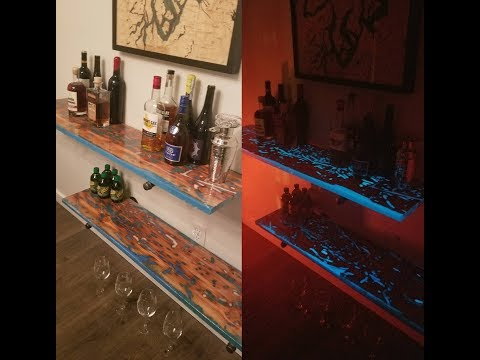 Pecky Cypress Sneak Peek w/ Glow-in-the-Dark Epoxy