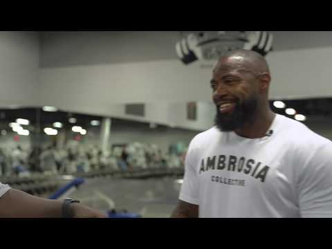 Losing 100 Lbs | Ep 15 | Weight check in | Chest & Leg Training | Mike Rashid