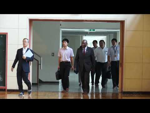 Tanzania Ambassador in Japan visited Nagai (Sept.27, 2017)