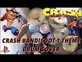 Crash Bandicoot Theme - Drum Cover (by Ciaran Fletcher) HD