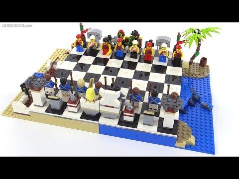LEGO Pirates 2015 Chess Set review! 40158