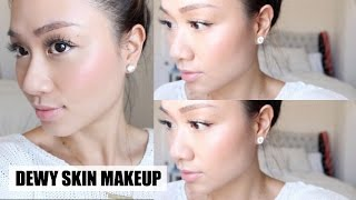 Glowy Dewy Skin Makeup Tutorial | HAUSOFCOLOR Thumbnail