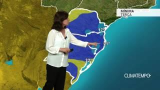 Previsão Sul – Nova frente fria se aproxima