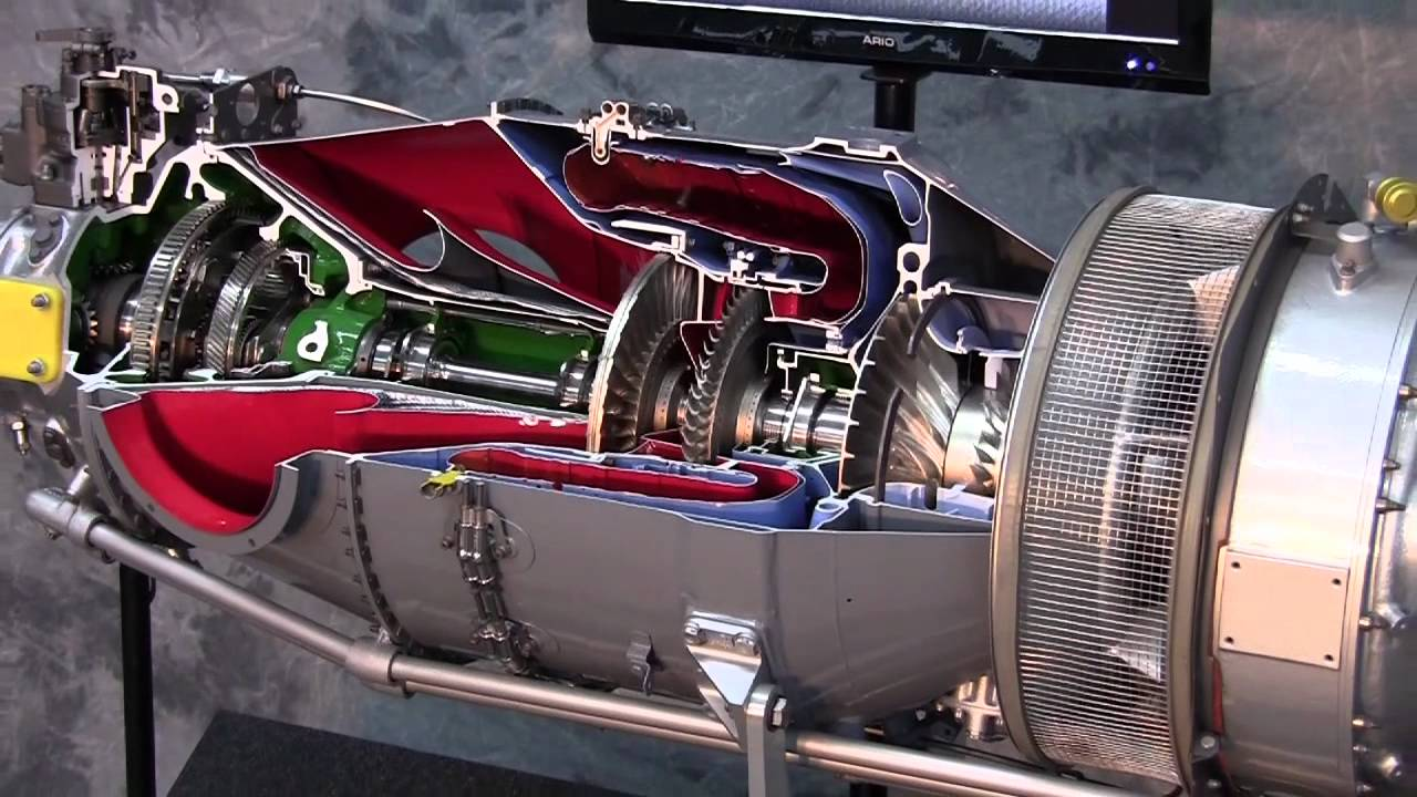 Pratt & Whitney PT6 Engine - Y...