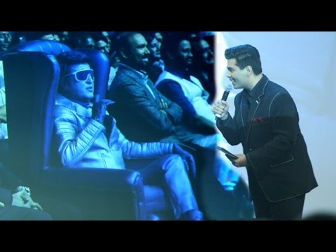 Karan Johar's FUNNY Rapid Fire With Chitti At Robot 2.0 First Look Launch