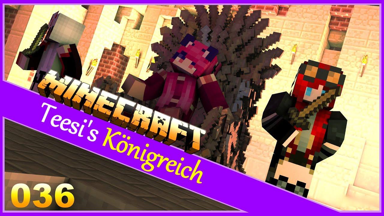 Wir schauen uns den Nether an ❖ Minecraft #036 [Let's Play Minecraft Deutsch]