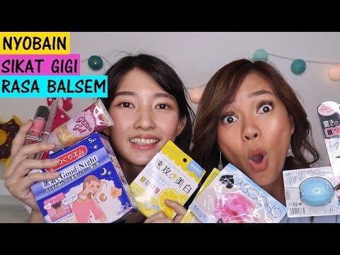 Review Produk Makeup Jepang Super Aneh ft Cici Fani
