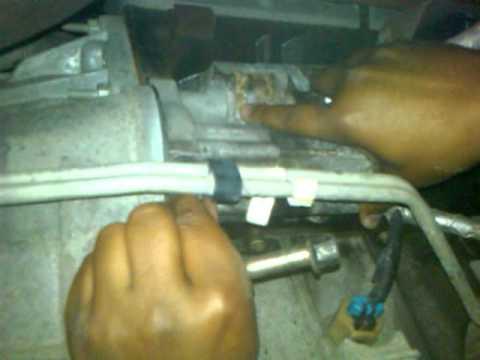 How to change crankshaft position sensor 04 GMC Savana 5 ...