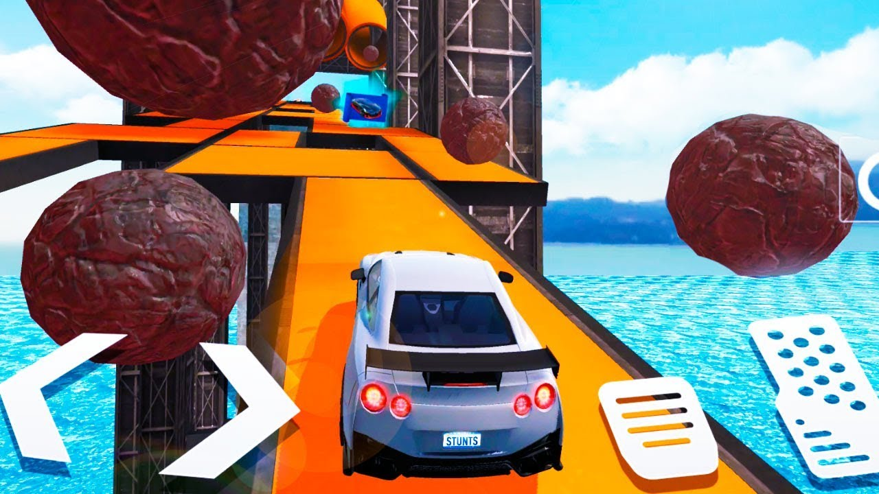 City Car Stunt 2 Races Mega Ramps #2 (by AxesInMotion) Android Gameplay Trailer HD