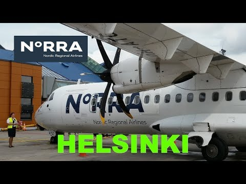 The SHORTEST FLIGHT between 2 European capitals: Norra Finnair Tallinn to Helsinki flight review