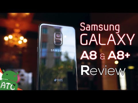 Samsung Galaxy A8 & A8+ Review - Wasted 🔫 | 4k | ATC