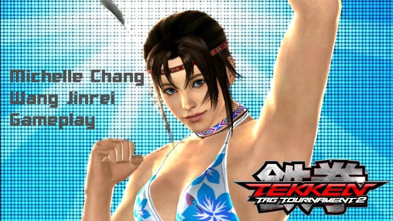 tekken tag tournament 2:michelle chang/wang jinrei gameplay - youtube