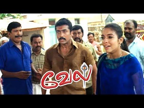 Vel | Vel Movie | Vel Tamil Movie Scenes | Vadivelu reveals the truth | Suriya saves the people
