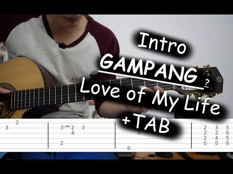 Lirik dan kunci gitar love of my life