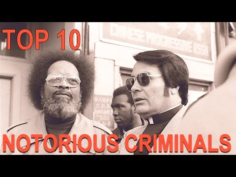 Top 10 Most Notorious Criminals In American History