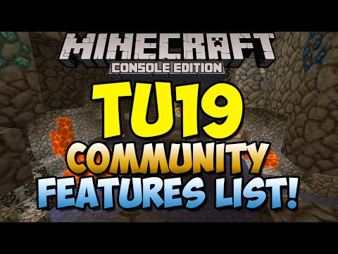 Minecraft Xbox & Playstation: TU19 Community Features List! | What You Want! [Poll Results]