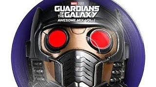 Guardians of the Galaxy: Awesome Mix Vol. 1 Soundtrack Tracklist VINYL