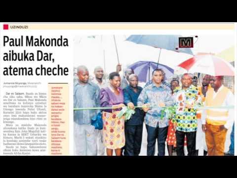 Mapitio ya magazeti ya Mwananchi Communications Ltd leo Jumanne 14/03/2017